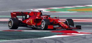 Leclerc hamar összebarátkozott az új Ferrarival