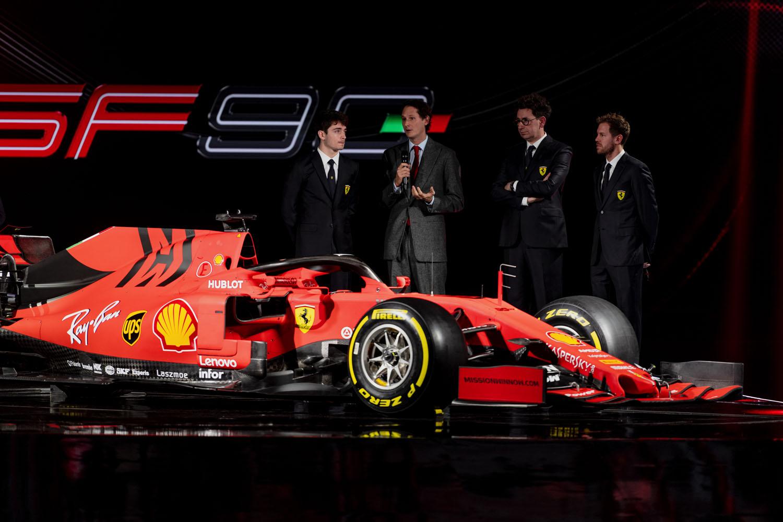Képgaléria: A Ferrari 2019-es versenyautója