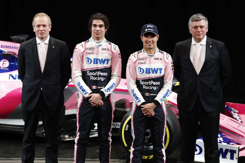 SportPesa Racing Point F1 Team Launch
