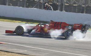 A Ferrari tovább vizsgálja, mi okozta Vettel balesetét