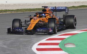 """A McLaren """"büszke"""" és """"elégedett"""" lehet az első tesztnap után – Sainz"""