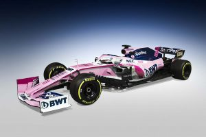 Bemutatták: Ilyen lesz a Racing Point F1-es autója