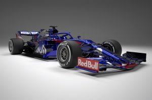 Bemutatta 2019-es autóját a Toro Rosso