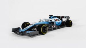 Megmutatta 2019-es autóját a Williams