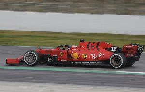 Vettel után Leclerc is az élre repítette a Ferrarit Barcelonában