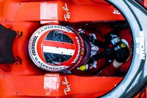 360 fokos videó: Leclerc első köre az új Ferrarival