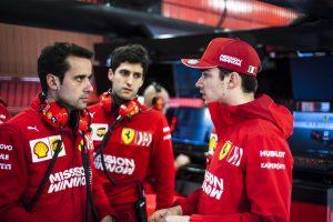 Ferrari: Leclerc nem lepett meg minket a teszteken