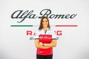 Női tesztpilótája lesz az Alfa Romeónak