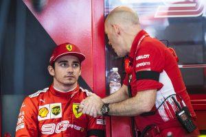 Leclerc megdolgoztatja a Ferrari mérnökeit