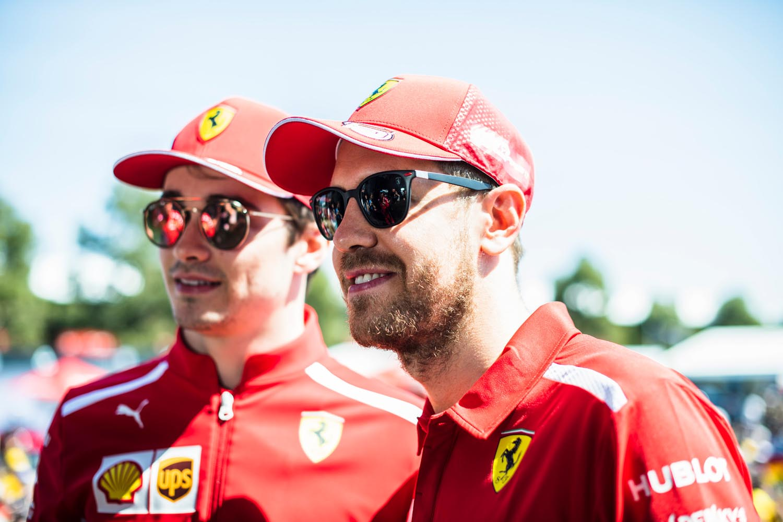 Ferrari, Australian Grand Prix 2019, Melbourne Sebastian Vettel Charles Leclerc
