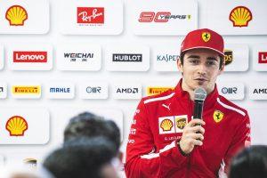 Leclerc: A feladatom az, hogy én legyek a kedvezményezett, ne Vettel