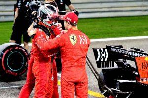 Videó: Így nyomta le Leclerc Vettelt az időmérőn