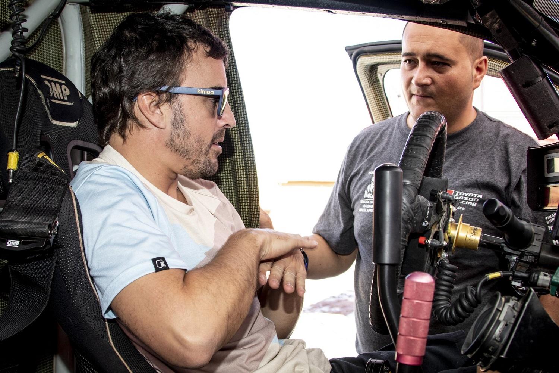 Fernando Alonso, Toyota, Dakar,