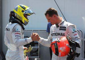 Rosberg: Néha jelentéktelennek éreztem magam Schumacher mellett
