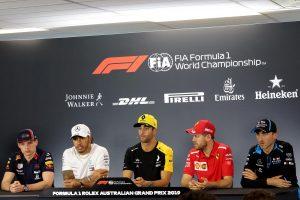 Az F1-es Ausztrál Nagydíj TV-közvetítései