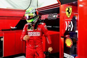 Fotók: Így tesztelt a Ferrarival Mick Schumacher
