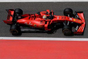 Vettel szerint pozitív teszten van túl a Ferrari
