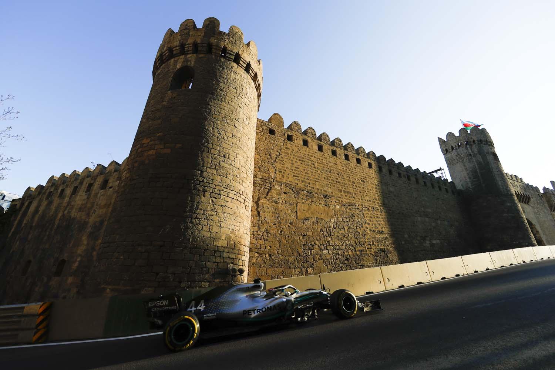 2019 Azerbaijan Grand Prix, Friday - LAT Images