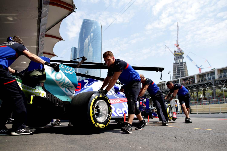 F1 Grand Prix of Azerbaijan - Practice