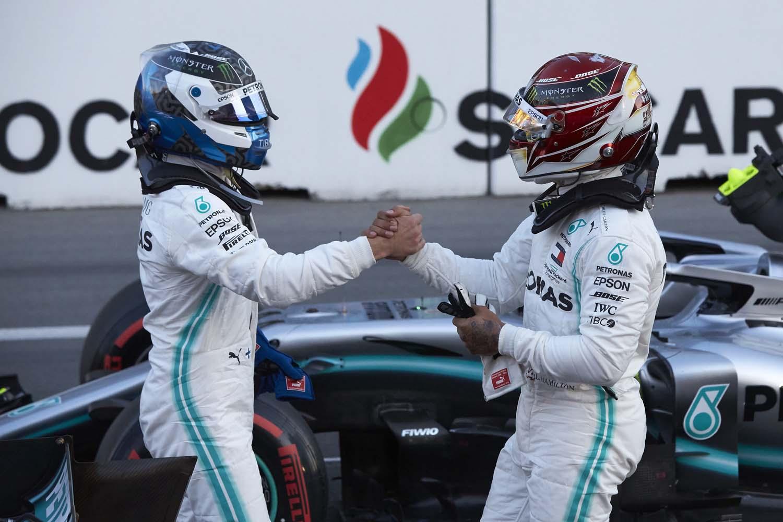 2019 Azerbaijan Grand Prix, Saturday - Steve Etherington