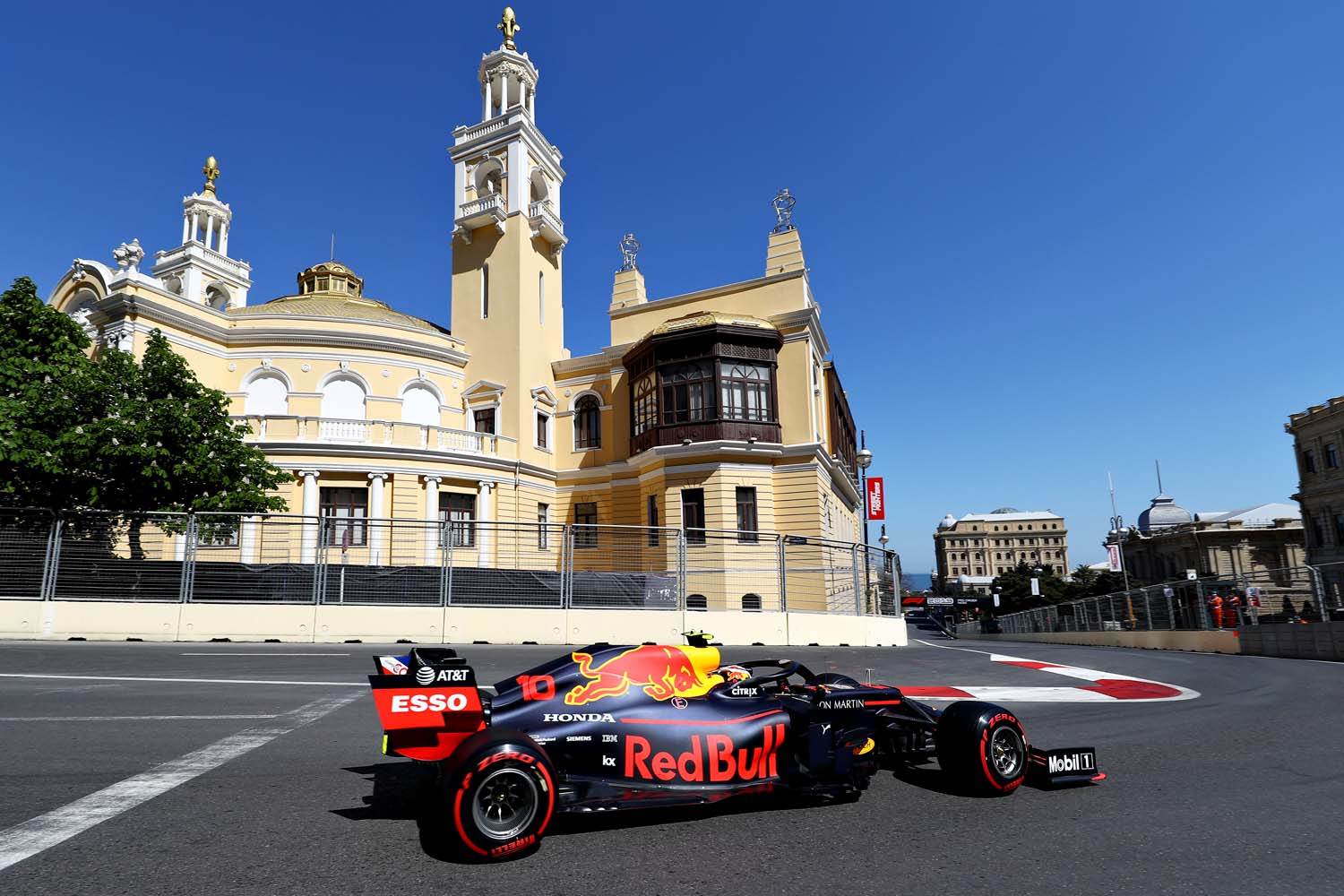 F1 Grand Prix of Azerbaijan - Final Practice