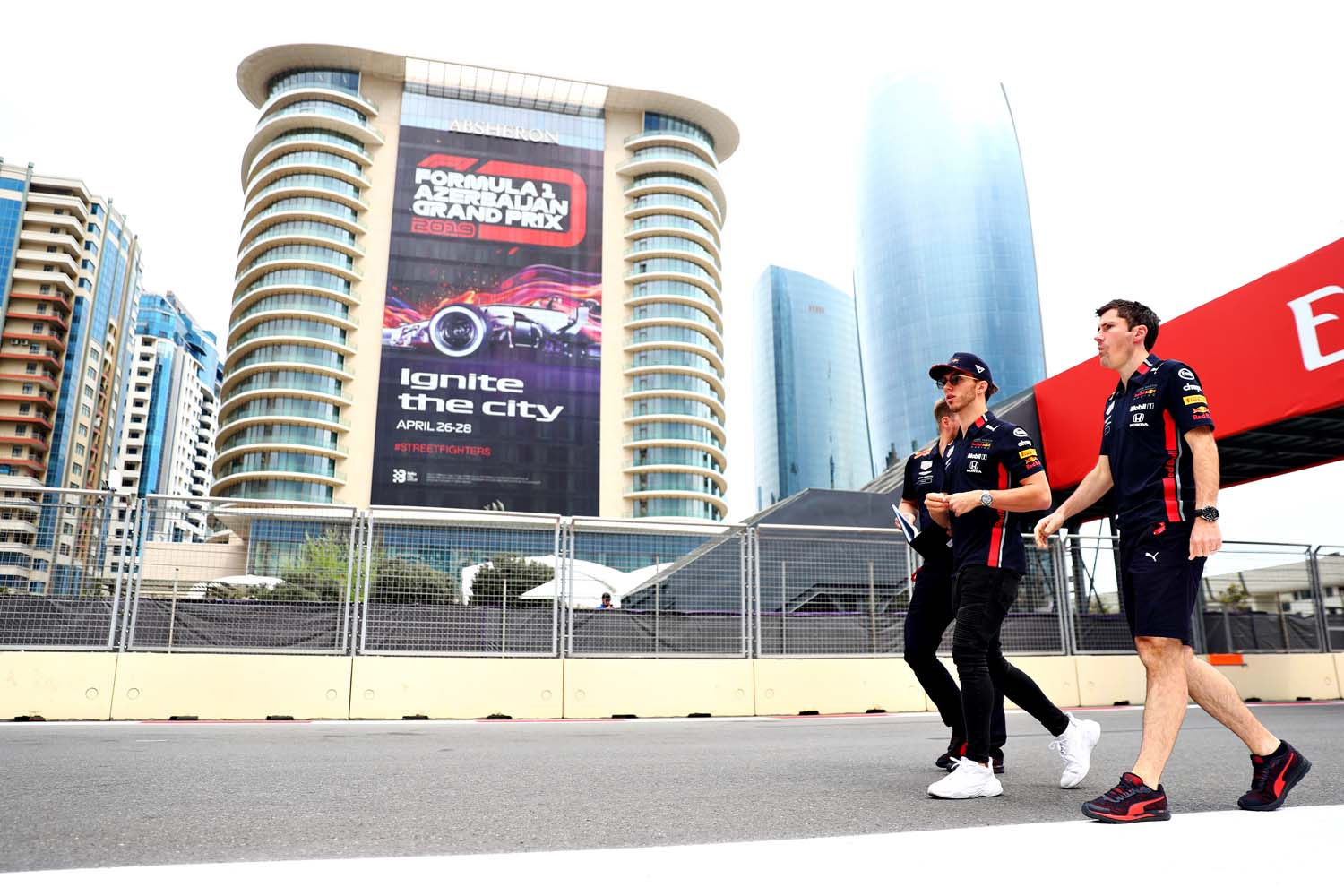 F1 Grand Prix of Azerbaijan - Previews