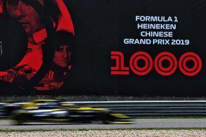 Ekkor rajtol az F1-es Kínai Nagydíj