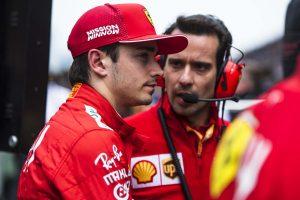 Leclerc megbeszélte a Ferrarival a történteket