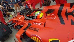 Fotó: Mick Schumacher apja nyomdokaiban, első köre a Ferrarival!