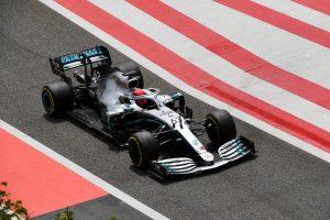 Russell és a Mercedes a leggyorsabb Bahreinben
