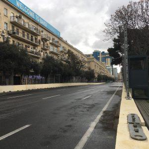 Fotók: Baku készen áll a hétvégi versenyre