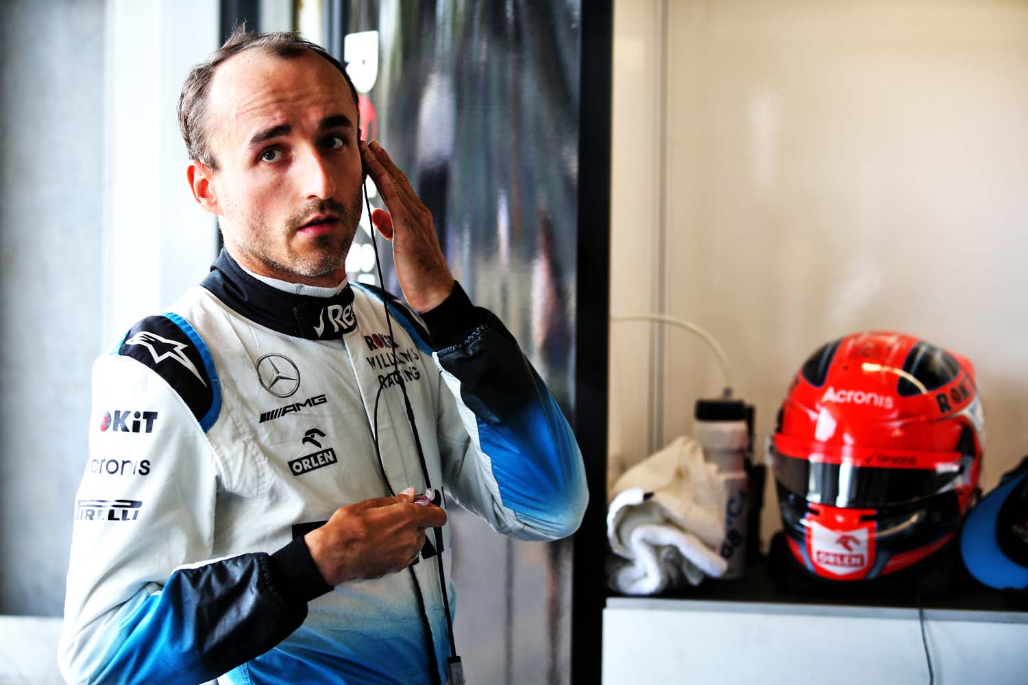 Robert Kubica (POL) Williams Racing. Azerbaijan Grand Prix, Friday 26th April 2019. Baku City Circuit, Azerbaijan.