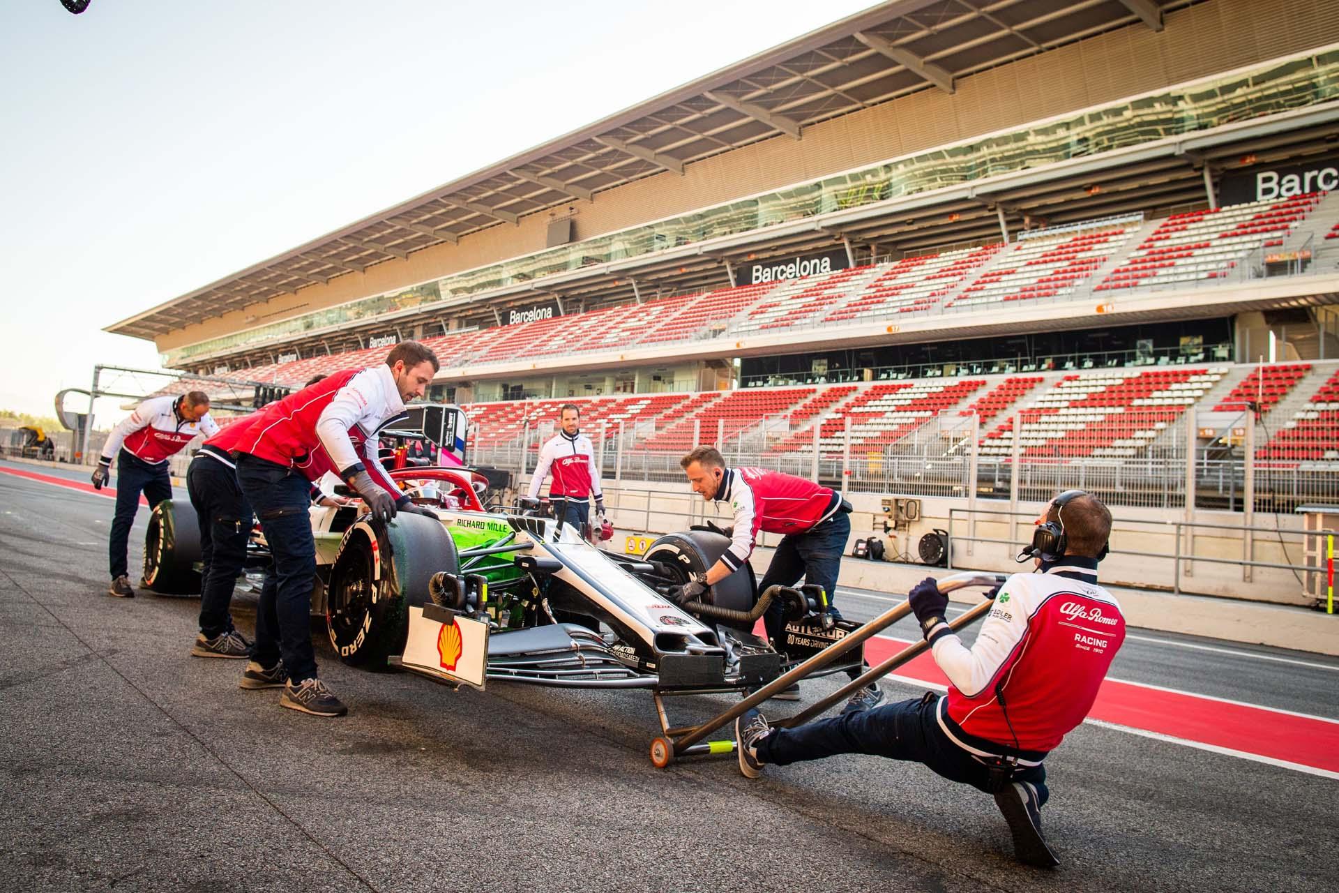 F1 - TESTS BARCELONA 05/2019