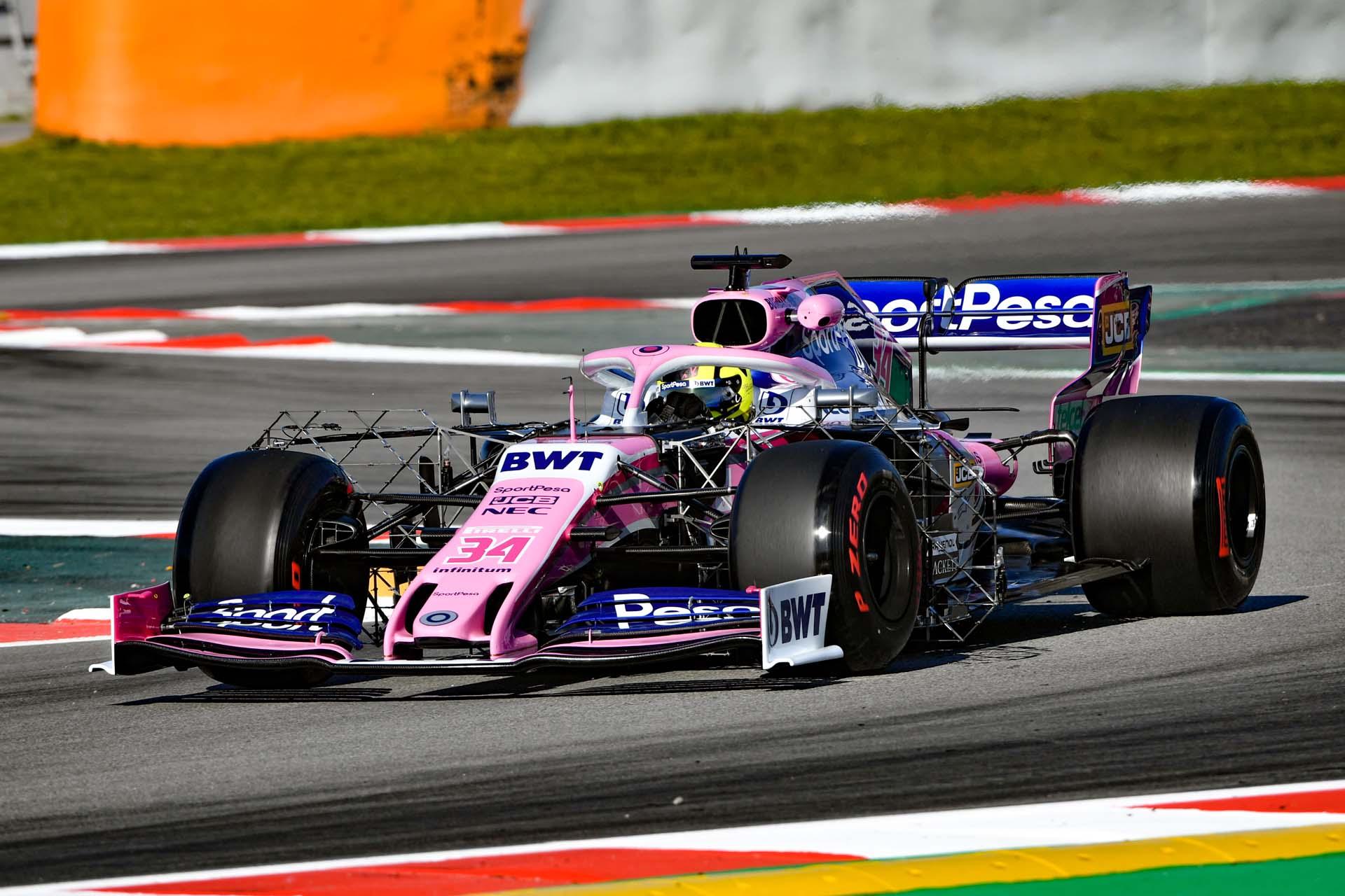 Nick Yelloy, Racing Point RP19