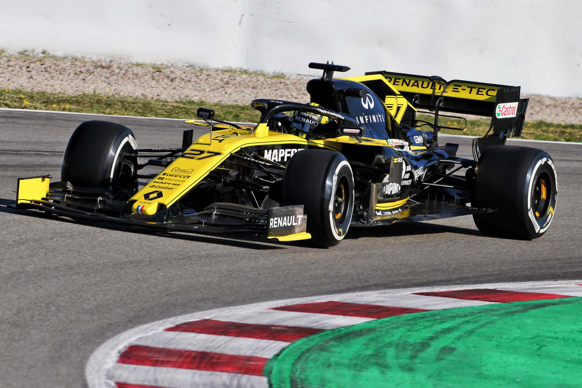Motor Racing - Formula One Testing - In Season Test - Day 1 - Barcelona, Spain