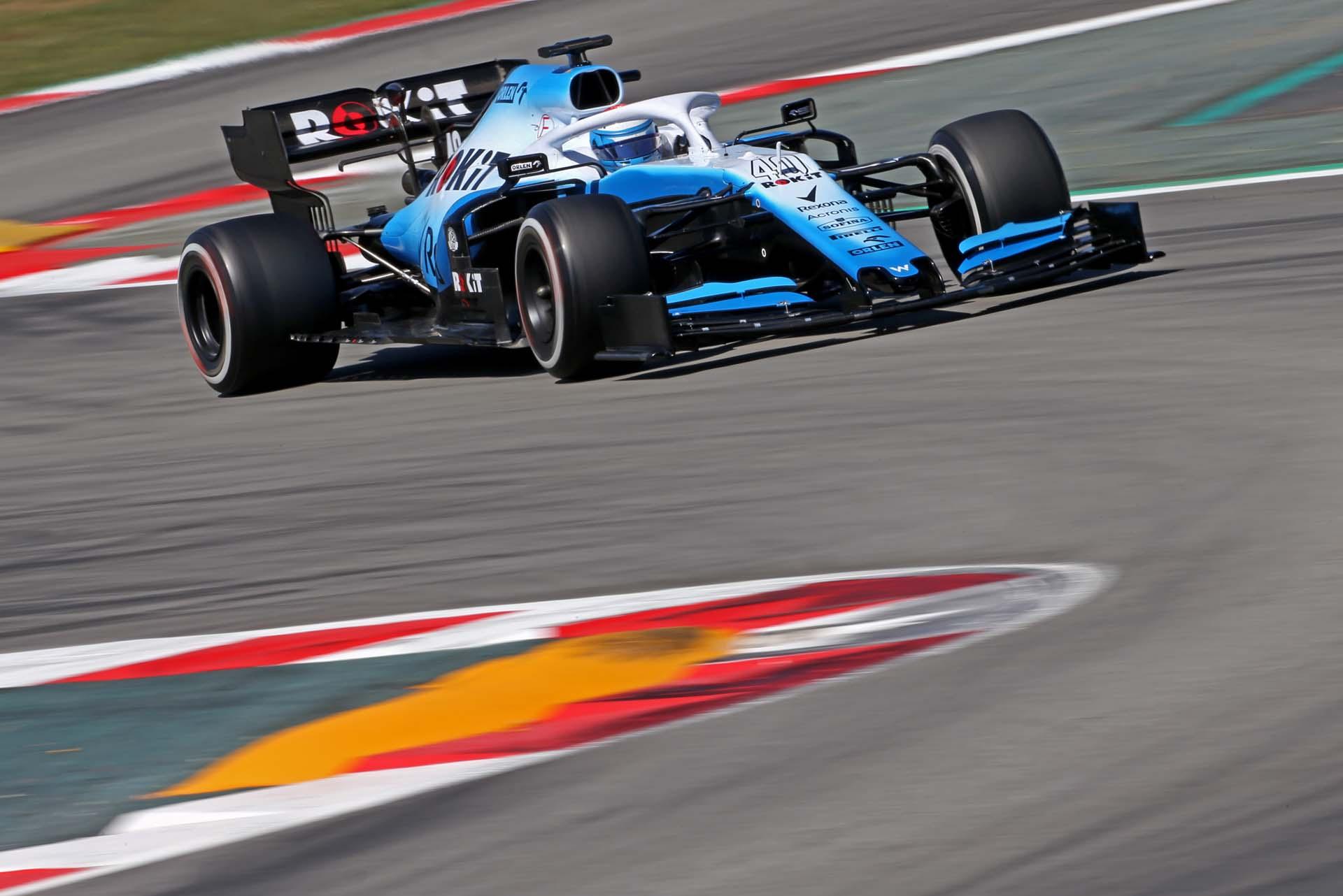 Nicholas Latifi (CDN) Williams Racing FW42 Test and Development Driver.