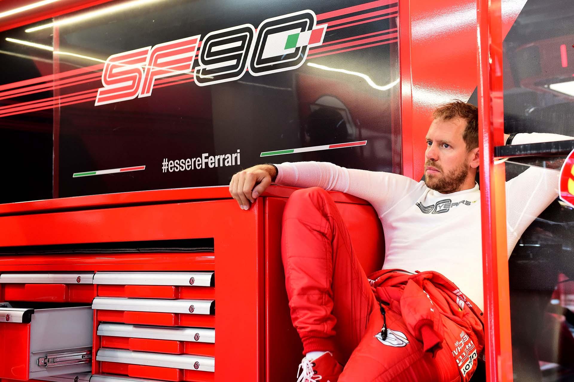 Sebastian Vettel, Ferrari, French GP, Paul Ricard GP FRANCIA F1/2019 - SABATO 22/06/2019 credit: @Scuderia Ferrari Press Office