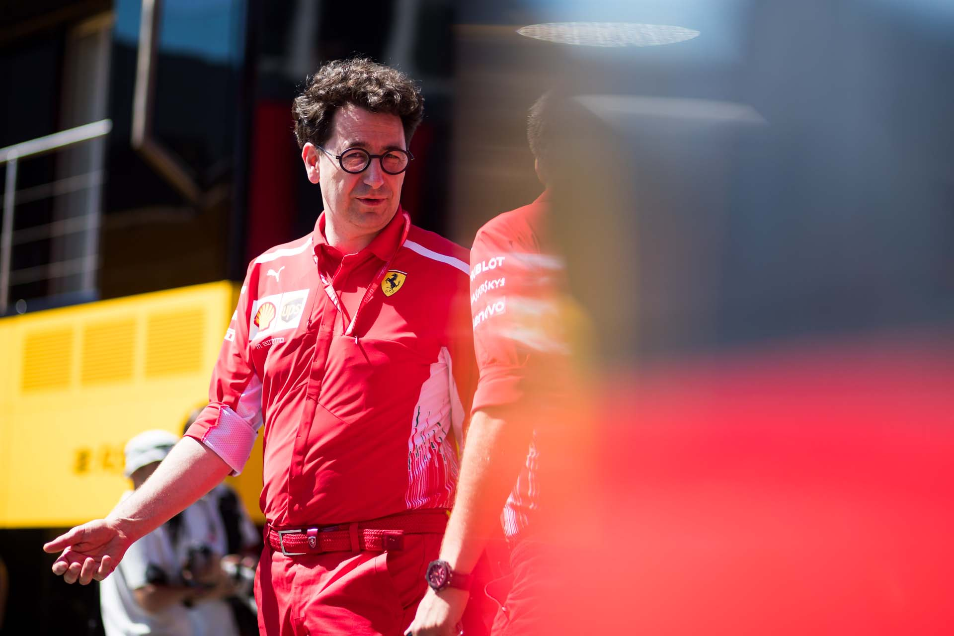 SPIELBERG,AUSTRIA,30.JUN.19 - MOTORSPORTS, FORMULA 1 - Grand Prix of Austria, Red Bull Ring. Image shows executive director Mattia Binotto (Ferrari). Photo: GEPA pictures/ Daniel Goetzhaber - For editorial use only. Image is free of charge.