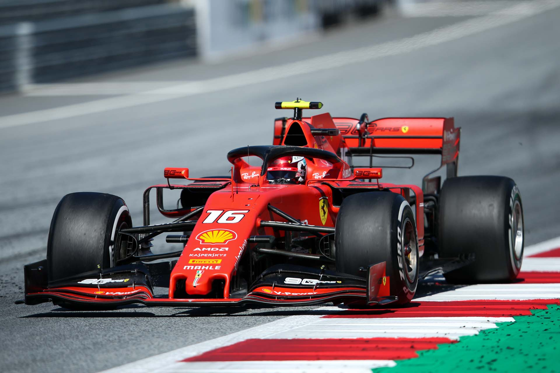 SPIELBERG,AUSTRIA,30.JUN.19 - MOTORSPORTS, FORMULA 1 - Grand Prix of Austria, Red Bull Ring. Image shows Charles Leclerc (MON/ Ferrari). Photo: GEPA pictures/ Harald Steiner - For editorial use only. Image is free of charge.