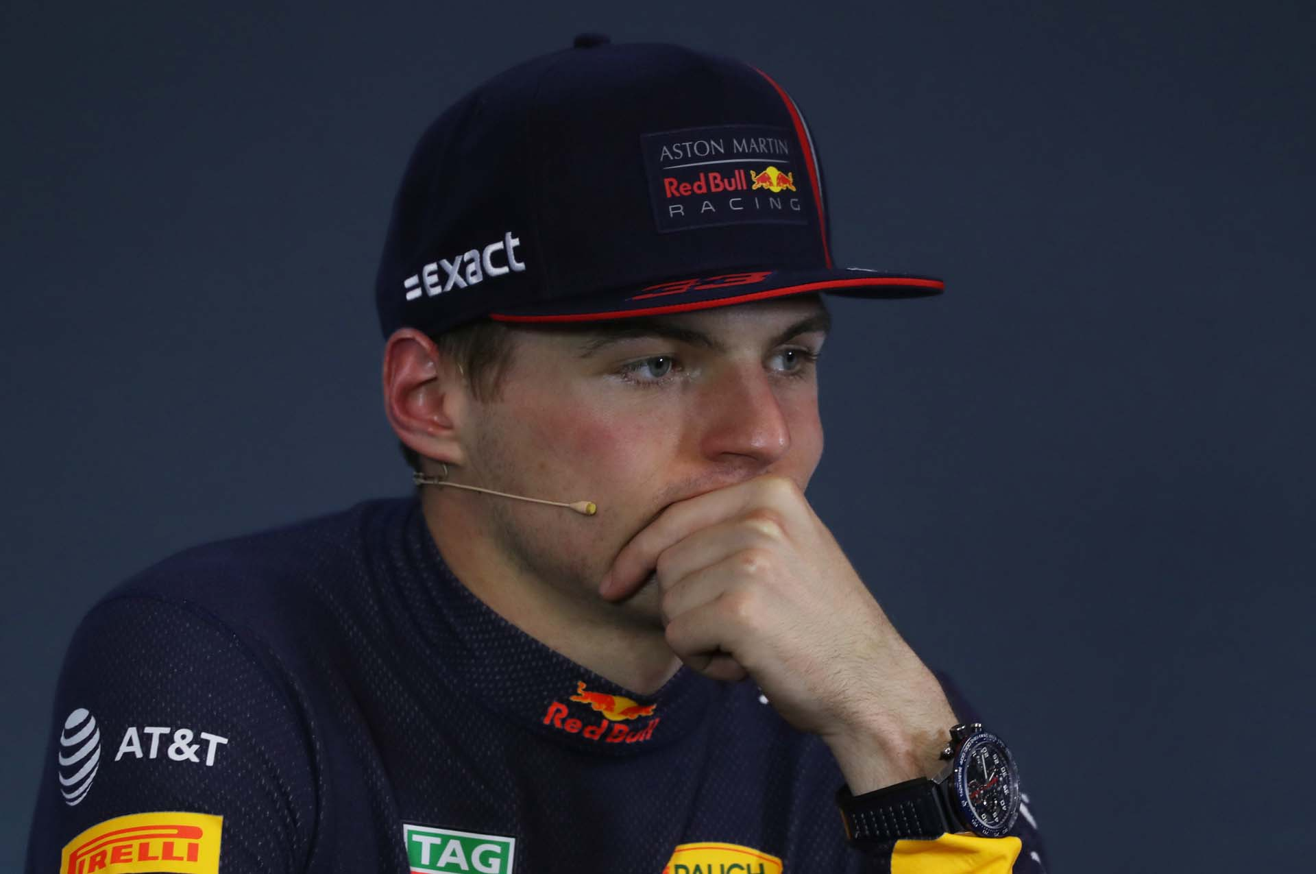 SPIELBERG,AUSTRIA,30.JUN.19 - MOTORSPORTS, FORMULA 1 - Grand Prix of Austria, Red Bull Ring. Image shows Max Verstappen (NED/ Red Bull Racing).  Photo: GEPA pictures/ Andreas Pranter - For editorial use only. Image is free of charge.