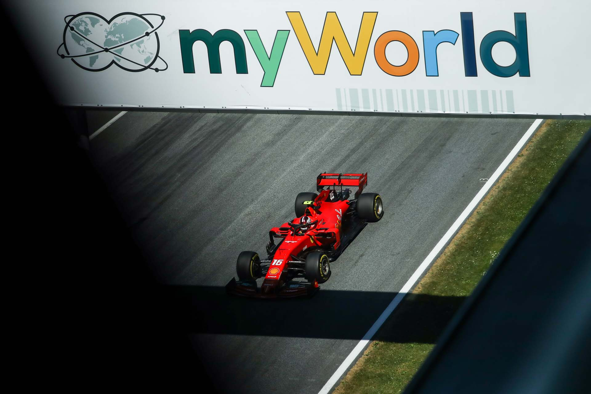 SPIELBERG,AUSTRIA,29.JUN.19 - MOTORSPORTS, FORMULA 1 - Grand Prix of Austria, Red Bull Ring, qualification. Image shows Charles Leclerc (MON/ Ferrari). Photo: GEPA pictures/ Daniel Goetzhaber - For editorial use only. Image is free of charge.