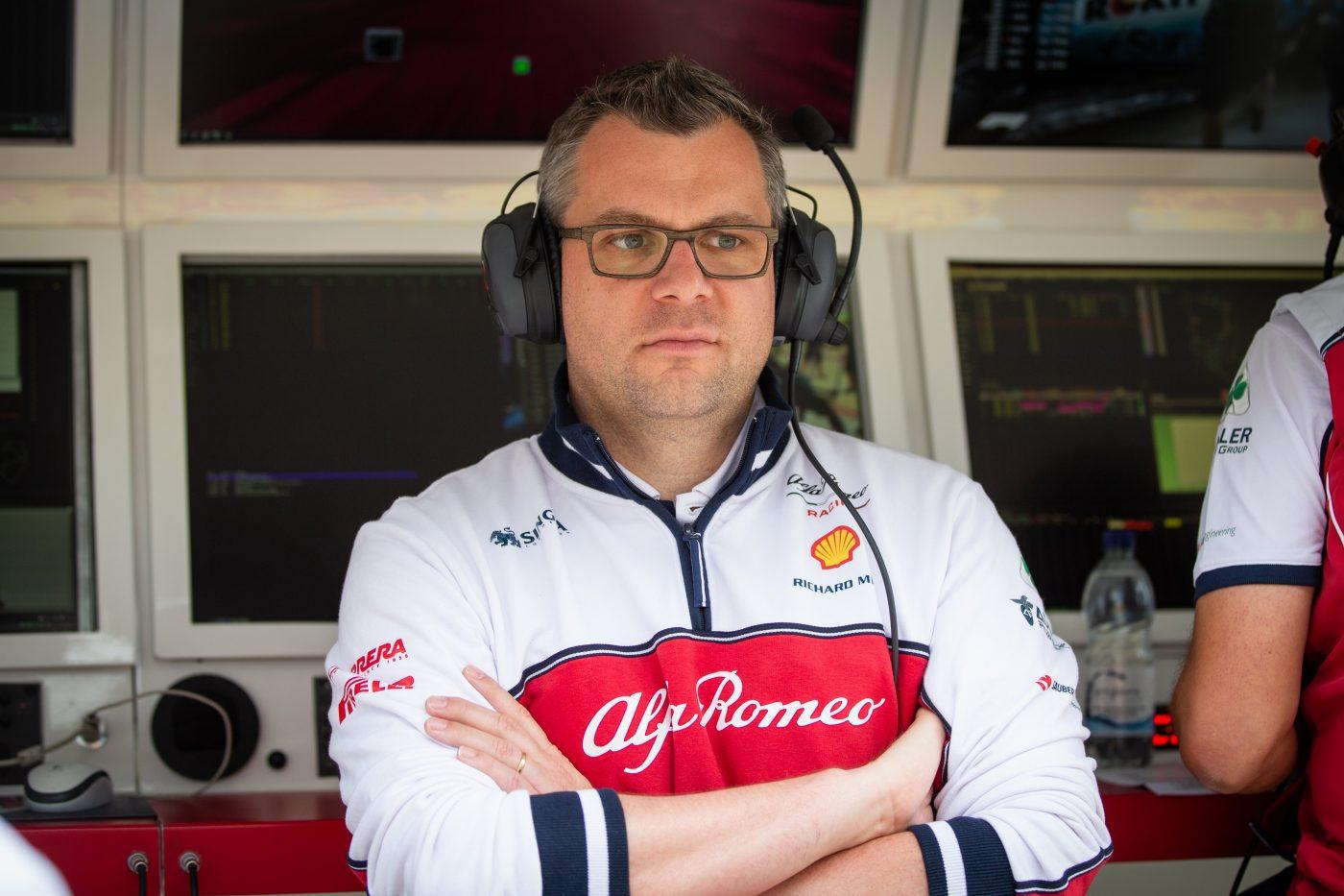 Alfa Romeo Racing, Jan Monchaux, technical director