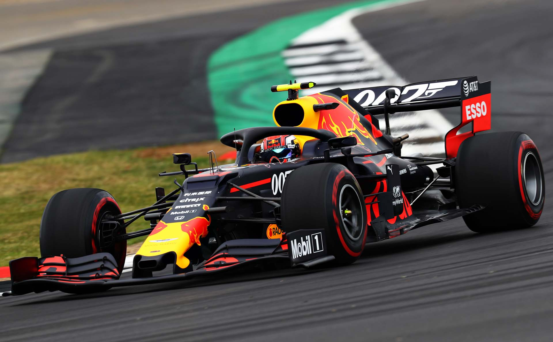NORTHAMPTON, ENGLAND - JULY 12: Pierre Gasly of France driving the (10) Aston Martin Red Bull Racing RB15 on track during practice for the F1 Grand Prix of Great Britain at Silverstone on July 12, 2019 in Northampton, England. (Photo by Mark Thompson/Getty Images) // Getty Images / Red Bull Content Pool  // AP-1ZX5X5ATH1W11 // Usage for editorial use only // Please go to www.redbullcontentpool.com for further information. //