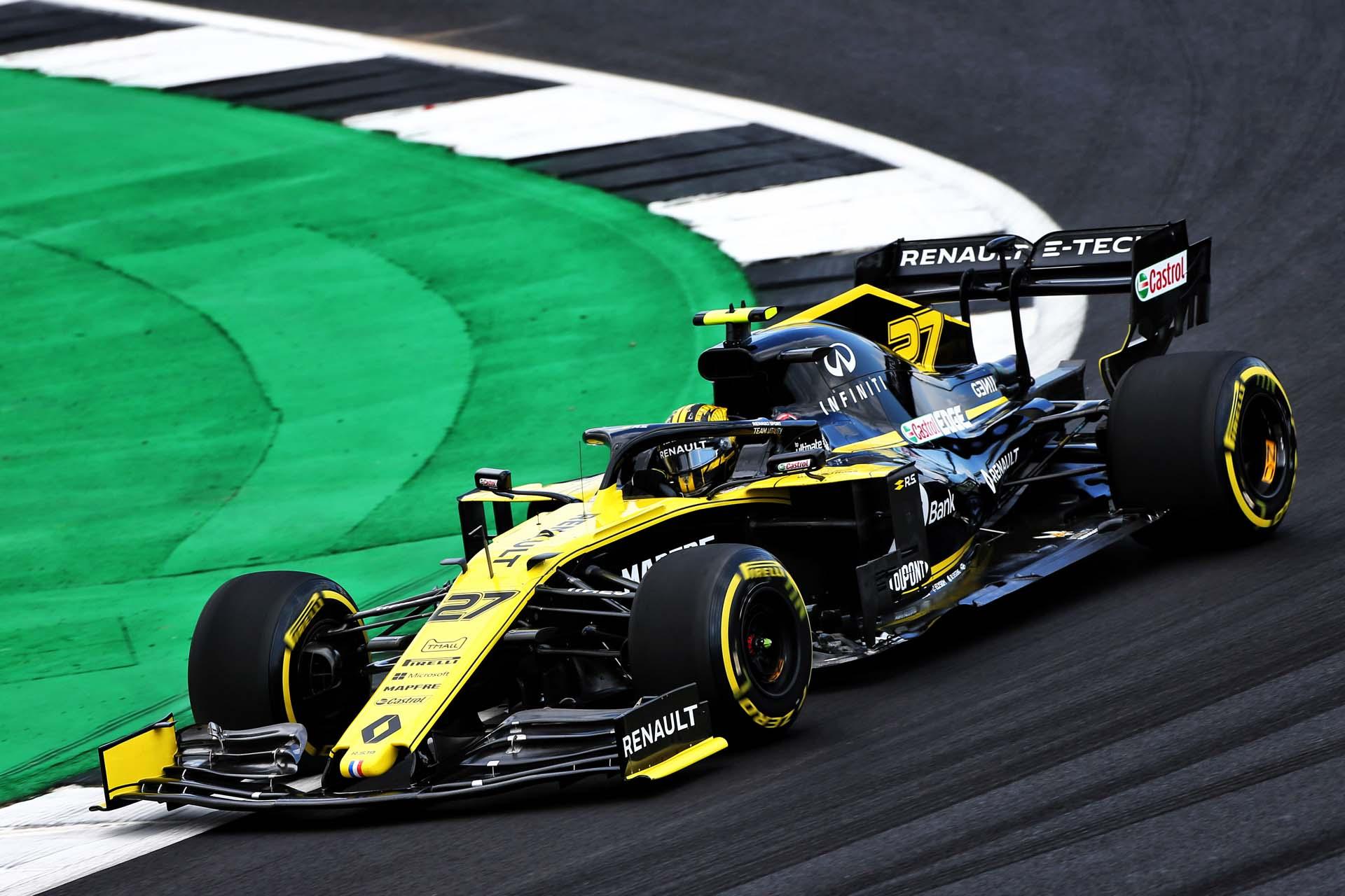 Nico Hülkenberg (GER) Renault F1 Team RS19. British Grand Prix, Friday 12th July 2019. Silverstone, England.