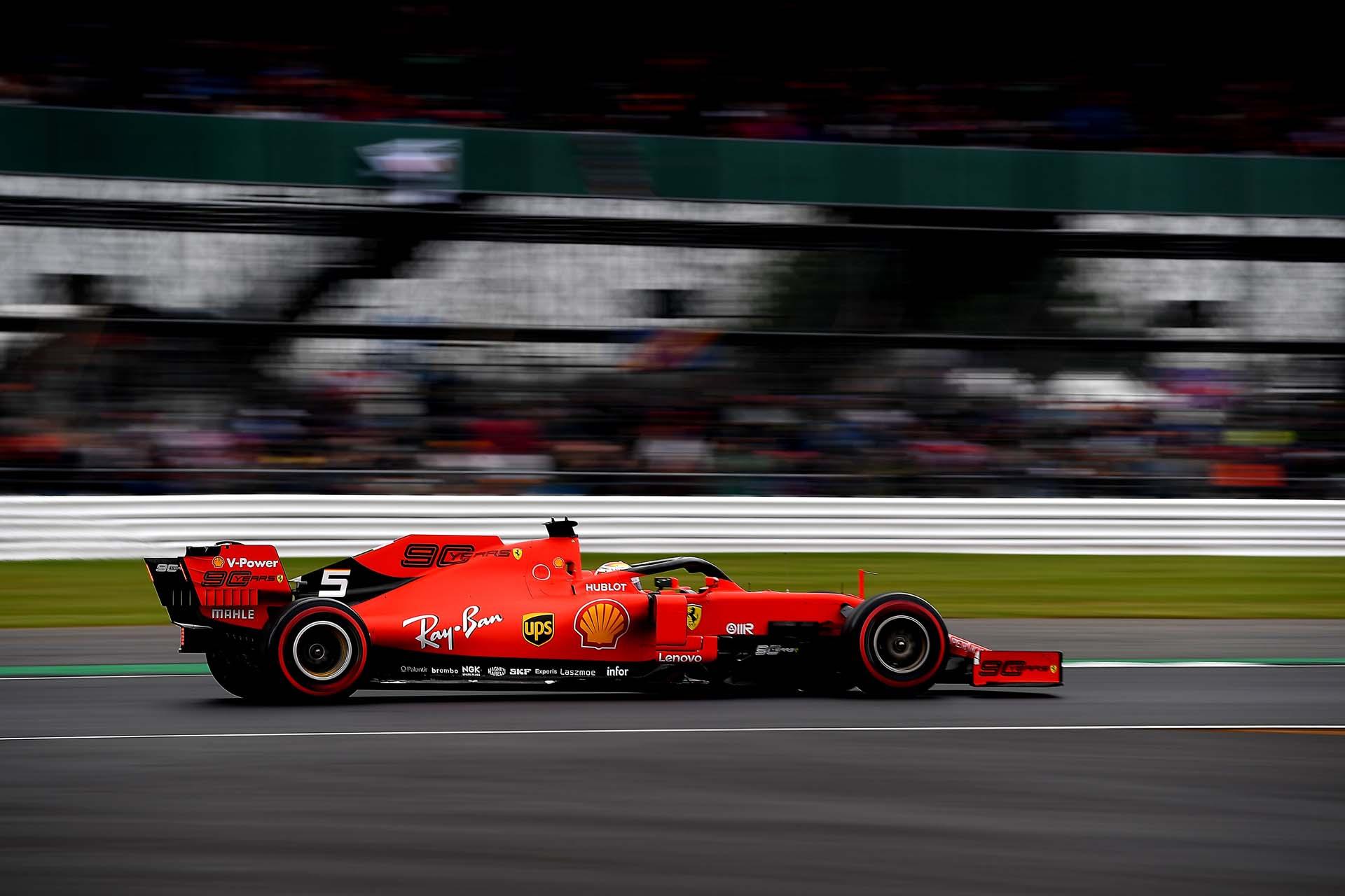 GP GRAN BRETAGNA F1/2019 - SABATO 13/07/2019 credit: @Scuderia Ferrari Press Office Sebastian Vettel