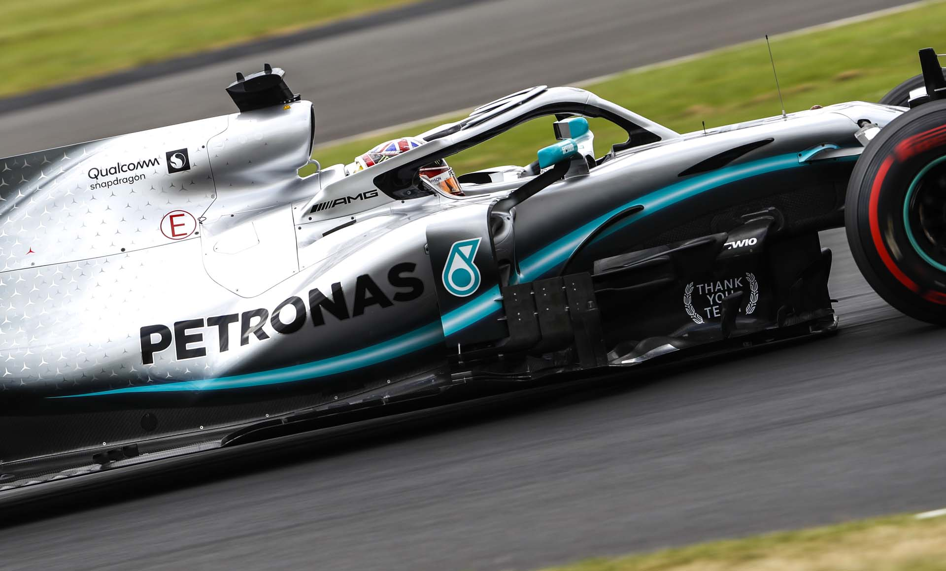 2019 British Grand Prix, Saturday - Wolfgang Wilhelm Lewis Hamilton Mercedes