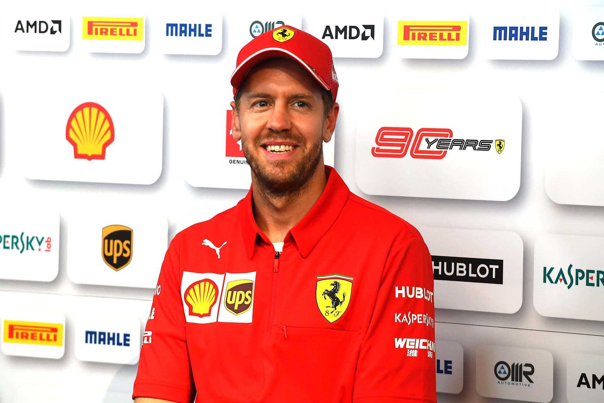 GP GRAN BRETAGNA F1/2019 - GIOVEDÌ 11/07/2019 credit: @Scuderia Ferrari Press Office Sebastian Vettel