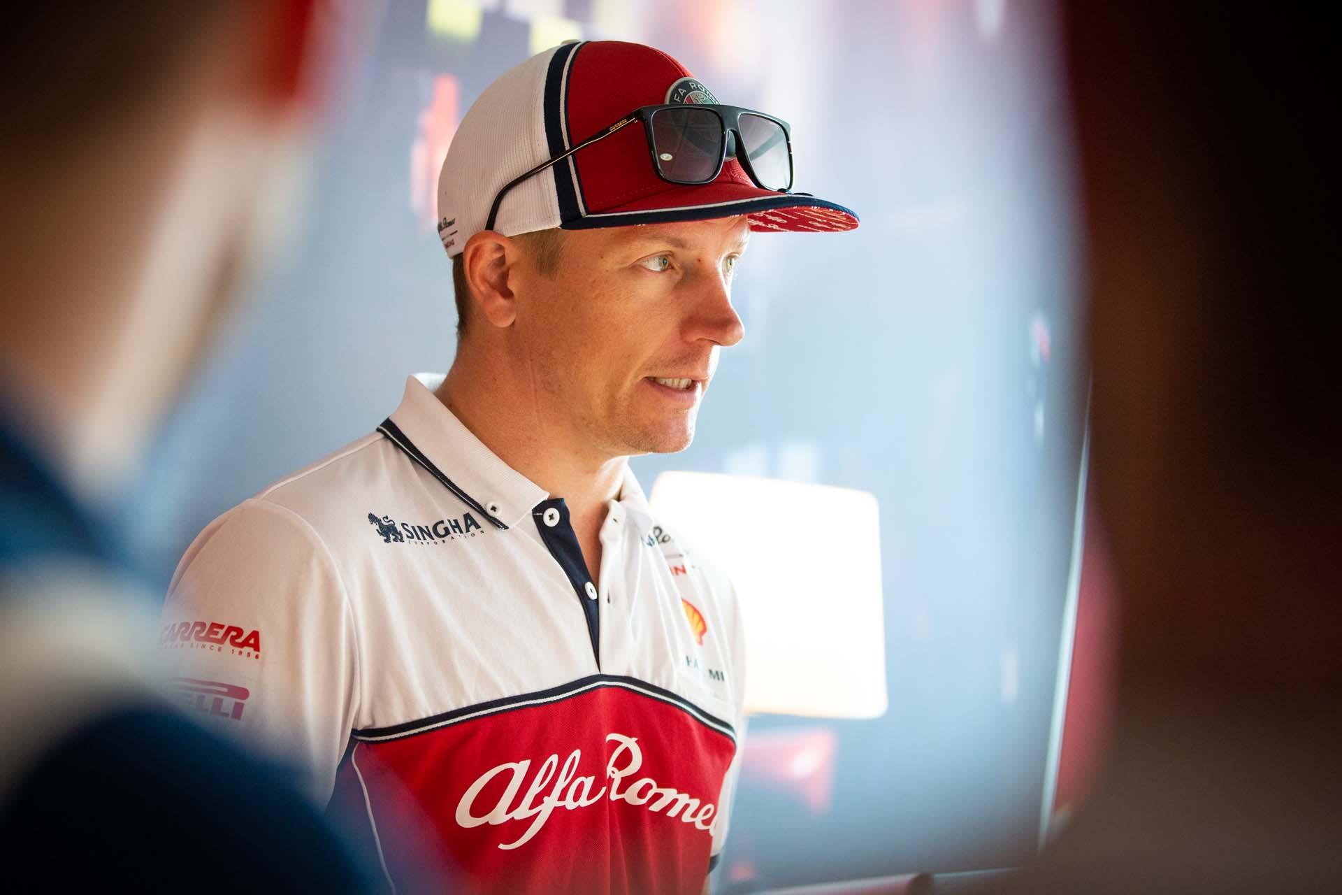 meet and greet with RAIKKONEN Kimi Räikkönen (fin), Alfa Romeo Racing C38, portrait during 2019 Formula 1 FIA world championship, Italy Grand Prix, at Monza from september 5 to 9  - Photo Antonin Vincent / DPPI