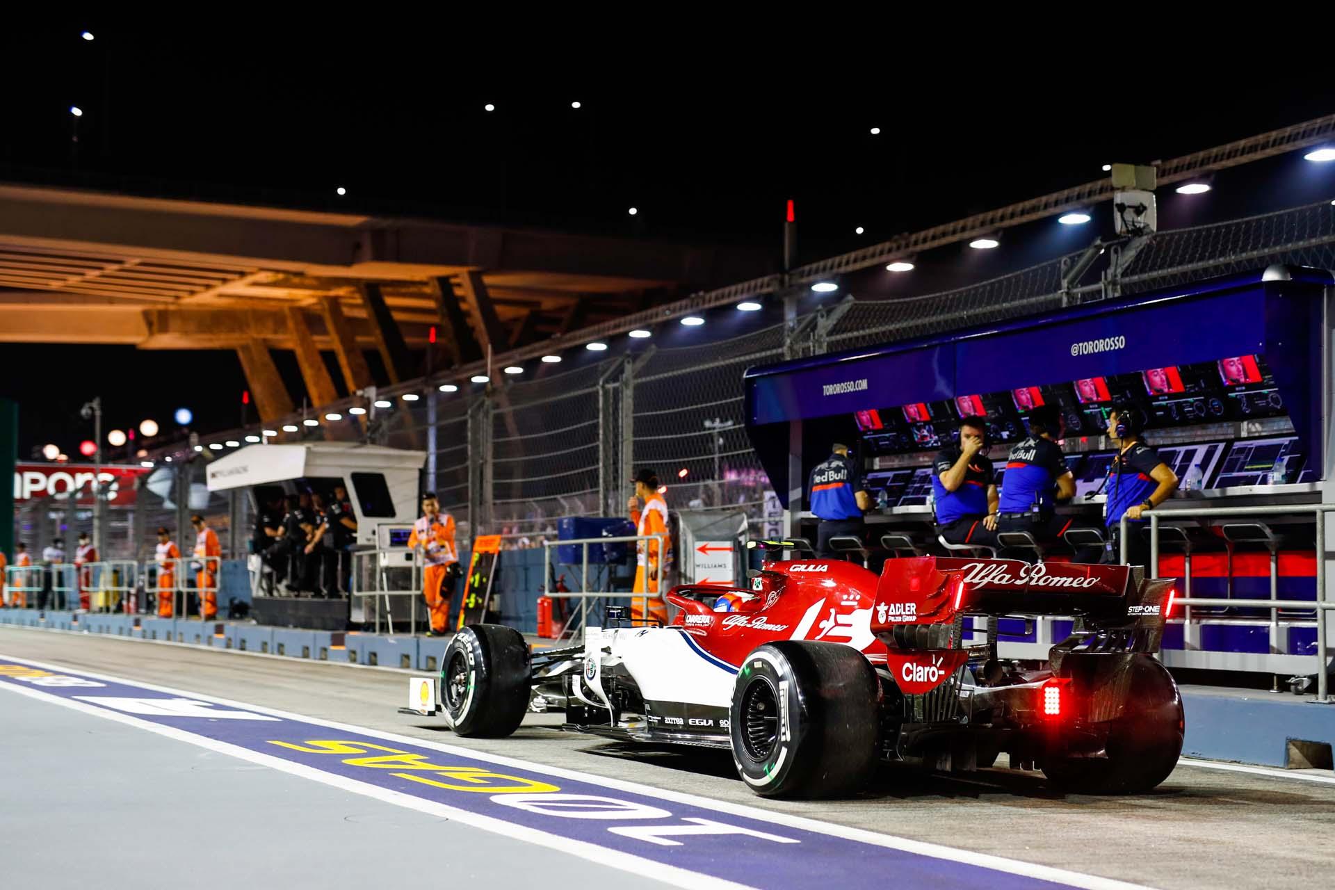 F1 - SINGAPORE GRAND PRIX 2019