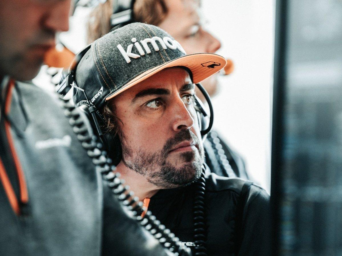 Fernando Alonso, McLaren, Italian Grand Prix 2019, Monza